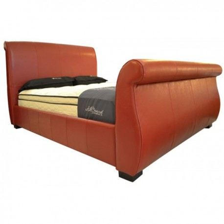 Genuine Leather Queen Bed Frame